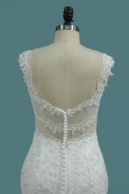 Umstands Hochzeitskleid Meerjungfrau | Brautkleid Spitze Online_4