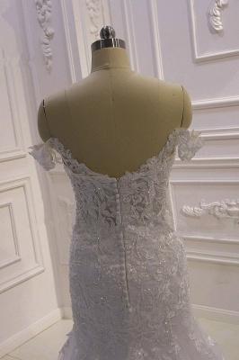 Designer Hochzeitskleid Glitzer | Brautkleid Meerjungfrau Spitze_3