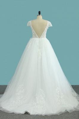 Elegante Hochzeitskleid A Linie   Günstige Brautkleider_3