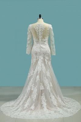 Elegante Brautkleider Meerjungfrau | Hochzeitskleider Mit Ärmel_2