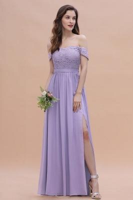 Schicke Brautjungfernkleider Lavender | Brautjungfernkleid Günstig_4