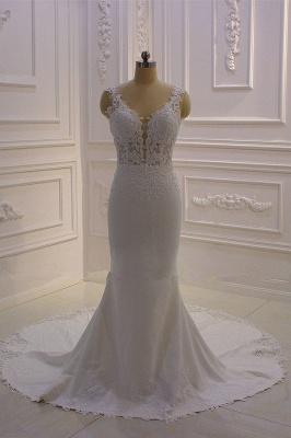 Brautkled Mit Spitze | Hochzeitskleider Meerjungfrau_2