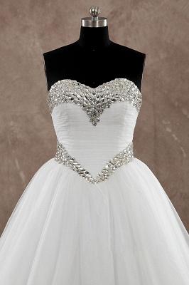Schlichte Brautkleider A Linie | Hochzeitskleider Günstig Online_2