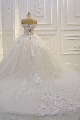 Günstige Hochzeitskleider Prinzessin | Brautkleid Spitze Online_4