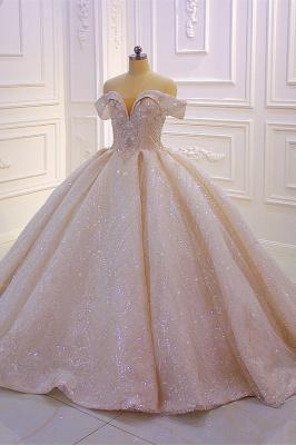 Hochzeitskleider Standesamt für Mollige | Brautkleider Prinzessin Luxus_3