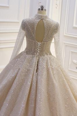 Hochzeitskleider Prinzessin Luxus   Brautkleider Mit Ärmel_3