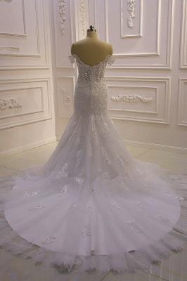 Designer Hochzeitskleid Glitzer | Brautkleid Meerjungfrau Spitze_6