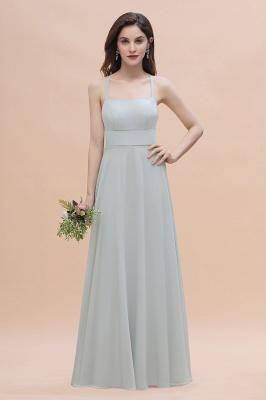 Brautjungfernkleider Lang Mint | Chiffon Kleider Günstig_1
