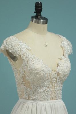 Schlichte Hochzeitskledier Günstig | Brautkleid Mit Spitze_3