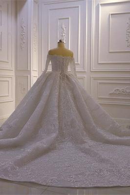Brautkleider mit Langem Arm | Silbernes Hochzeitskleid_4