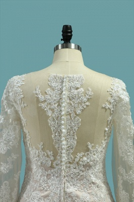Elegante Brautkleider Meerjungfrau | Hochzeitskleider Mit Ärmel_4
