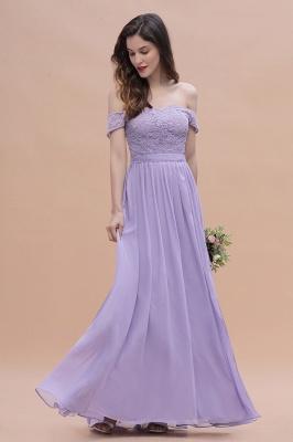 Schicke Brautjungfernkleider Lavender | Brautjungfernkleid Günstig_10