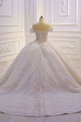 Hochzeitskleider Standesamt für Mollige | Brautkleider Prinzessin Luxus_5