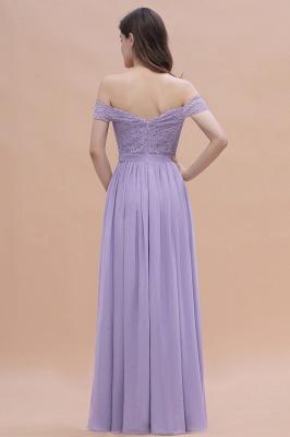 Schicke Brautjungfernkleider Lavender | Brautjungfernkleid Günstig_3