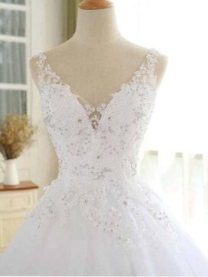 Elegante Hochzeitskleider Prinzessin | Ausgefallene Brautkleider_5
