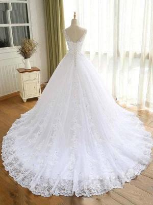 Elegante Hochzeitskleider Prinzessin | Ausgefallene Brautkleider_2