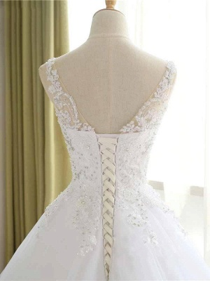 Elegante Hochzeitskleider Prinzessin | Ausgefallene Brautkleider_4