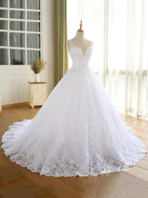 Elegante Hochzeitskleider Prinzessin | Ausgefallene Brautkleider_3