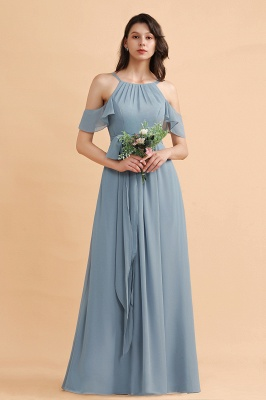 Schöne Brautjungfernkleider Lang Günstig | Kleider für Brautjungfern_1