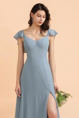 Designer Brautjungfernkleider Lang | Chiffon Kleider Für Brautjungfern_5