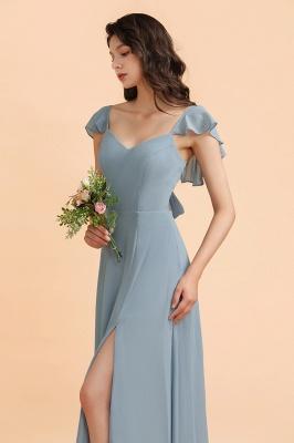Designer Brautjungfernkleider Lang | Chiffon Kleider Für Brautjungfern_7