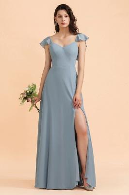 Designer Brautjungfernkleider Lang | Chiffon Kleider Für Brautjungfern_1