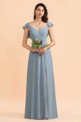 Designer Brautjungfernkleider Lang | Chiffon Kleider Für Brautjungfern_4