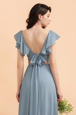Designer Brautjungfernkleider Lang | Chiffon Kleider Für Brautjungfern_8