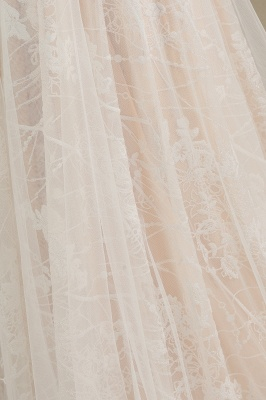 Fashion Brautkleider mit  Ärmel | A Linie Hochzeitskleid Standesamt_8