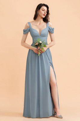 Chiffon Kleider Für Brautjungfern | Brautjungfernkleider Lang_4