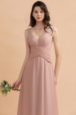 Brautjungfernkleider Lang Altrosa | Kleider für Brautjungfern_9