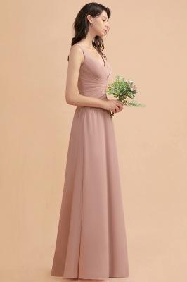 Brautjungfernkleider Lang Altrosa | Kleider für Brautjungfern_6