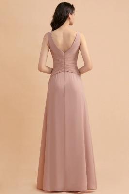 Brautjungfernkleider Lang Altrosa | Kleider für Brautjungfern_3