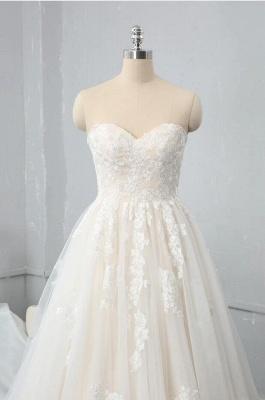 Brautkleid Standesam | A Linie Hochzeitskleid Spitze_3