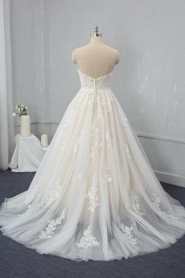 Brautkleid Standesam | A Linie Hochzeitskleid Spitze_2
