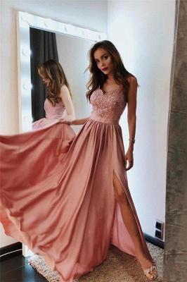 Fashion Abendkleider Lang Günstig | Abiballkleider Mit Spitze_1