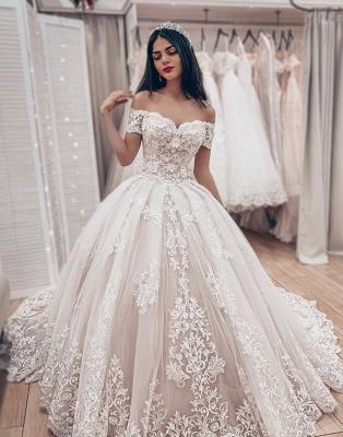 Luxus Brautkleider Prinzessin | Spitze Hochzeitskleider Online Kaufen_1