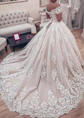 Wunderschöne Brautkleider Prinzessin   Hochzeitskleider Spitze Günstig_3