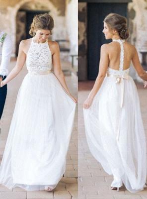 Designer Weiße Etuikleid Hochzeitskleider Brautmoden | Brautkleider Strand Mit Spitze_1