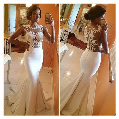 Abiballkleider lang Günstig | Weiße Abendkleider Online_2