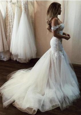 Schöne Hochzeitskleider Mit Spitze   Brautkleider Meerjungfrau_4