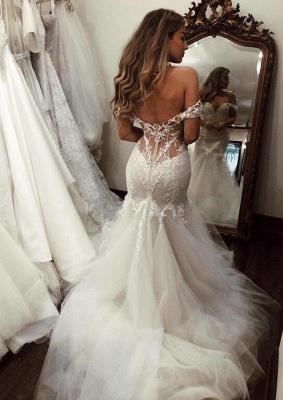 Schöne Hochzeitskleider Mit Spitze   Brautkleider Meerjungfrau_3