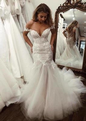 Schöne Hochzeitskleider Mit Spitze   Brautkleider Meerjungfrau_2