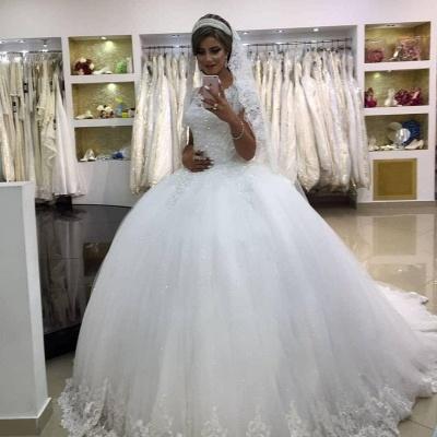 Modern Prinzessin Hochzeitskleider Online | Schöne Brautkleider Mit Spitze Bodenlang_1