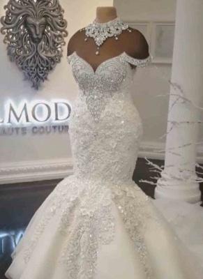 Brautkleider Meerjungfrau Stpitze | Extravagante Hochzeitskleider_2