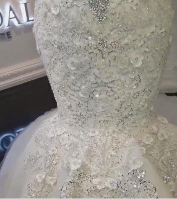 Brautkleider Meerjungfrau Stpitze | Extravagante Hochzeitskleider_5