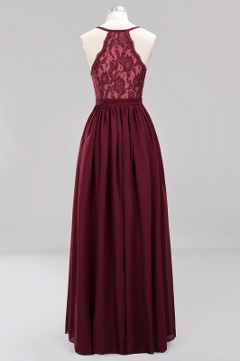 Schlichte Brautjungfernkleider Lang | Fest Kleider zur Hochzeit_2