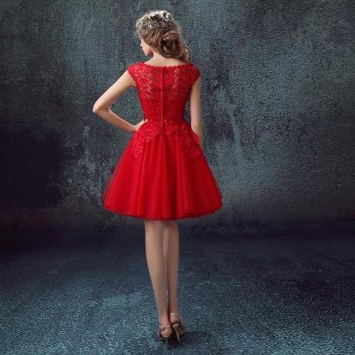Rote Cocktailkleider Kurz   Abendmoden Online_3